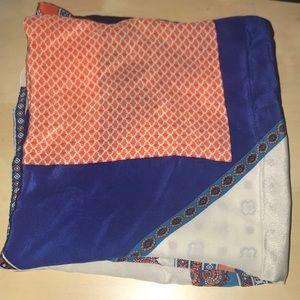 Club Monaco silk square scarf